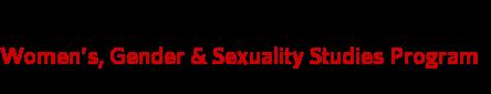Women's, Gender & Sexuality Studies Program