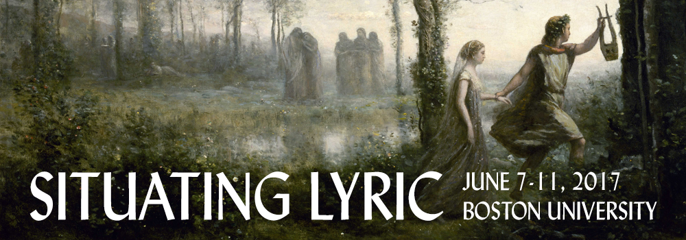 Call for Submissions: Situating Lyric 2017 | World Languages