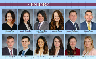 High School Senior Page Yearbook Ideas